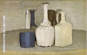Still Life 1948 3 By Georgio Morandi