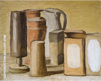 Still Life 1949 By Georgio Morandi Replica Paintings on Canvas - Reproduction Gallery