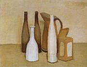 Still Life 1951 By Giorgio Morandi