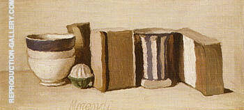 Still Life 1951 2 By Georgio Morandi