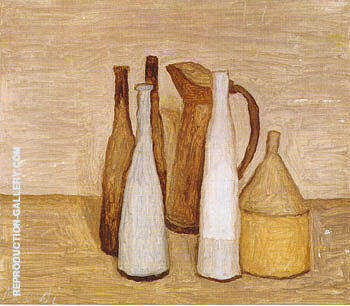 Still Life 1953 By Georgio Morandi