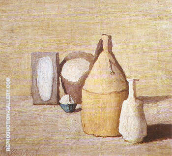Still Life 1954 By Georgio Morandi Replica Paintings on Canvas - Reproduction Gallery