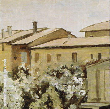 Courtyard at Via Fondazza 1954 By Georgio Morandi