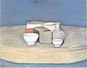 Still Life 1957 By Giorgio Morandi