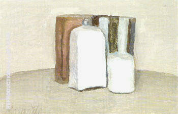 Still Life 1957 By Georgio Morandi