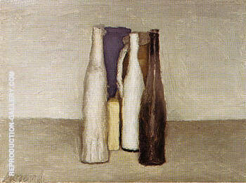 Still Life 1957 Painting By Georgio Morandi - Reproduction Gallery