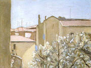 Courtyard Via Fondazza 1958 By Giorgio Morandi