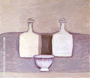 Still Life 1959 By Georgio Morandi