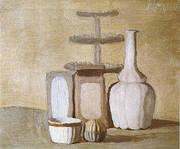 Still Life 1960 By Giorgio Morandi
