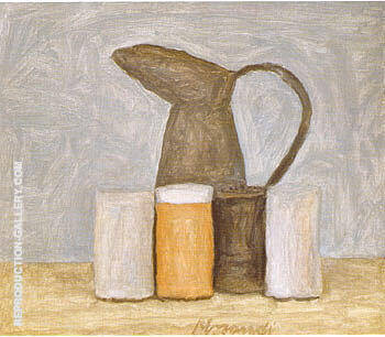Still Life 1961 By Georgio Morandi