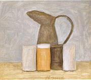 Still Life 1961 By Giorgio Morandi
