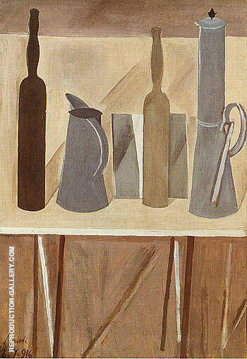 Still Life 1916 By Georgio Morandi