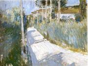 Landscape 1913 By Giorgio Morandi