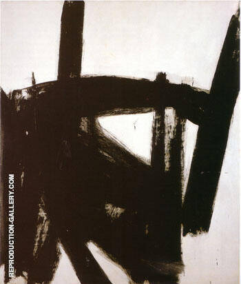 West Brand 1960 By Franz Kline
