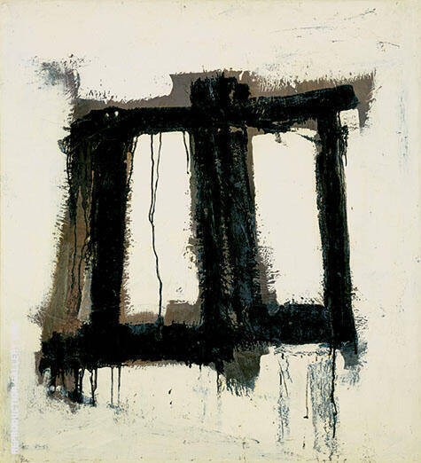 Thorpe 1951 By Franz Kline - Oil Paintings & Art Reproductions - Reproduction Gallery