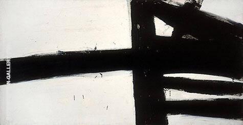 Hazelton 1957 By Franz Kline