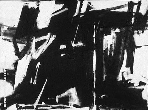 Cupola 1958 By Franz Kline - Oil Paintings & Art Reproductions - Reproduction Gallery