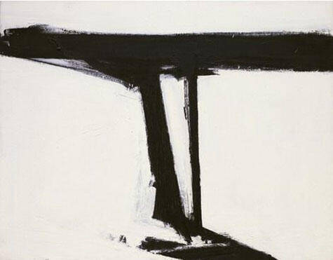 Le Gros 1961 By Franz Kline - Oil Paintings & Art Reproductions - Reproduction Gallery