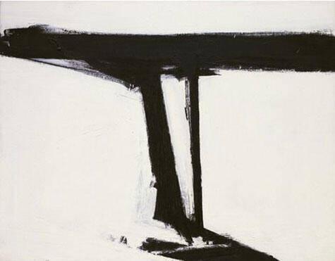 Le Gros 1961 By Franz Kline