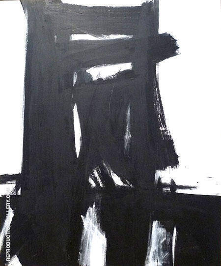 Meryon 1960 By Franz Kline - Oil Paintings & Art Reproductions - Reproduction Gallery