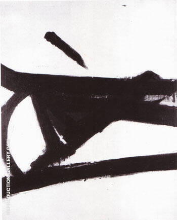 Ancient Grove By Franz Kline