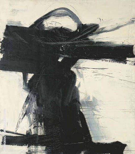 Crow Dancer 1958 By Franz Kline - Oil Paintings & Art Reproductions - Reproduction Gallery