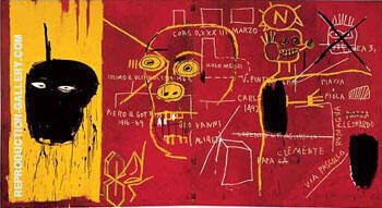Florence Painting By Jean-Michel-Basquiat - Reproduction Gallery