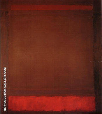 No 64 Untitled 1960 By Mark Rothko