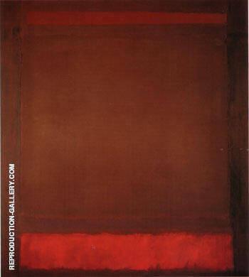 No 64 Untitled 1960 By Mark Rothko