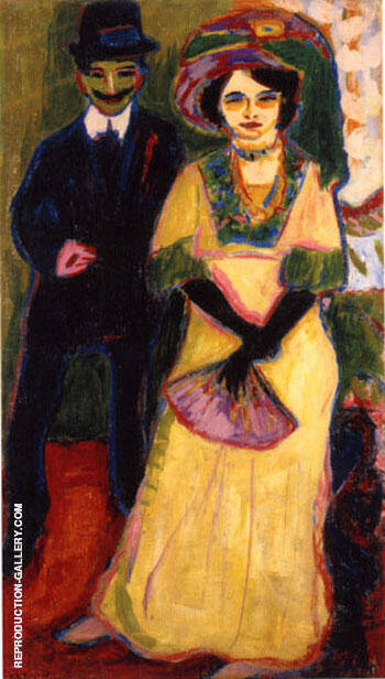 Dodo and Her Brother By Ernst Kirchner