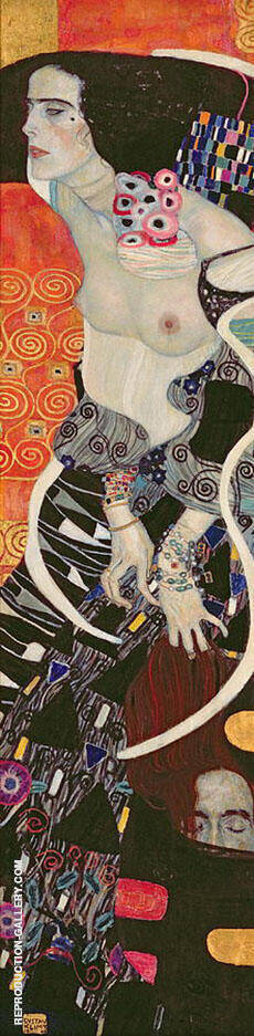 Judith II Salome 1909 Painting By Gustav Klimt - Reproduction Gallery