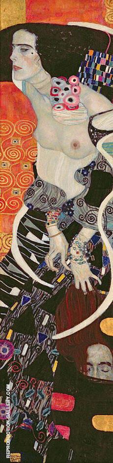 Judith II Salome 1909 By Gustav Klimt