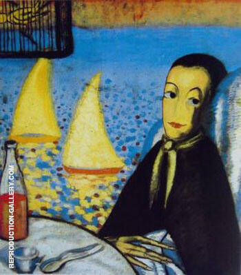 The Sick Child Self Portrait at Cadaques 1923 By Salvador Dali - Oil Paintings & Art Reproductions - Reproduction Gallery