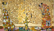 Tree of Life Stoclet Frieze By Gustav Klimt