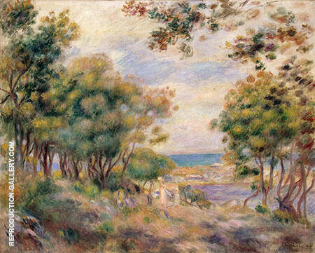 Landscape at Beaulieu 1899 By Pierre Auguste Renoir Replica Paintings on Canvas - Reproduction Gallery