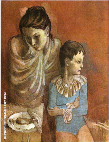 Reproduction of Mother and Child 1905 by Pablo Picasso | Oil Painting Replica On CanvasReproduction Gallery