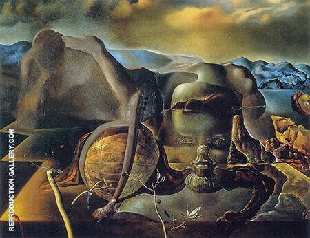 Endless Enigma 1938 Painting By Salvador Dali - Reproduction Gallery