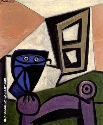 Hibou sur une Chaise 1947 By Pablo Picasso