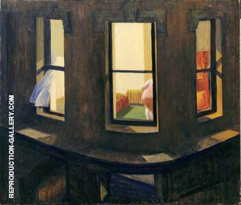 Night Windows. 1928 By Edward Hopper
