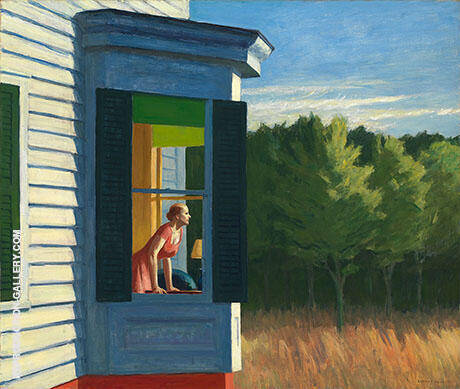 Cape Cod Morning, 1950 By Edward Hopper Replica Paintings on Canvas - Reproduction Gallery