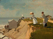 Long Branch New Jersey 1869 By Winslow Homer