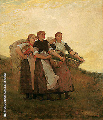 Hark the Lark 1882 Painting By Winslow Homer - Reproduction Gallery