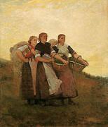 Hark the Lark 1882 By Winslow Homer
