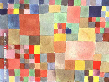 Flora on the Sand 1927 By Paul Klee