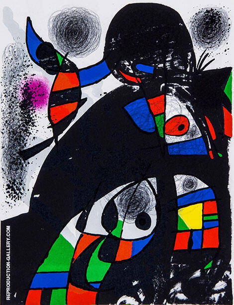 San Lazzaro Painting By Joan Miro - Reproduction Gallery