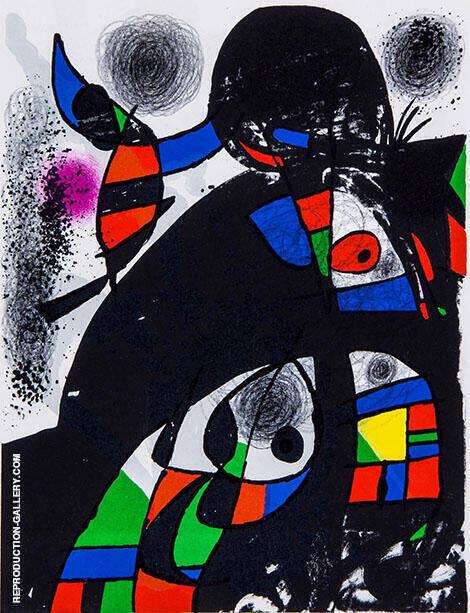 San Lazzaro By Joan Miro