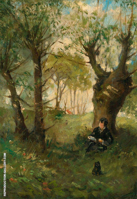 Old Path at Auvers 1863 By Berthe Morisot