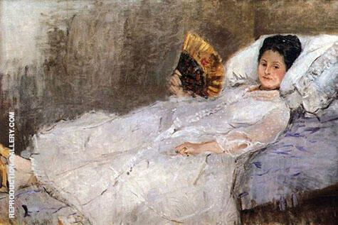 Portrait of Madame Hubbard 1874 By Berthe Morisot