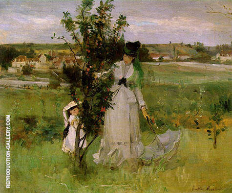 Hide and Seek 1873 By Berthe Morisot