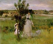 Hide and Seek 1873 By Berthe Morisot